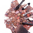 Crushed eyeshadows — Foto Stock