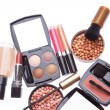Set of cosmetic makeup products — Stock fotografie