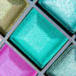 Colorful eyeshadows — Stock Photo #9052032