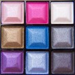 Colorful eyeshadows — Stock Photo #9052666