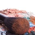 Set of multicolor crushed eyeshadows — Stock Photo #9052988