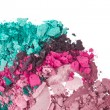 Set of multicolor crushed eyeshadows — Stock Photo #9055162