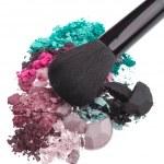 Set of multicolor crushed eyeshadows — Stock Photo #9055603