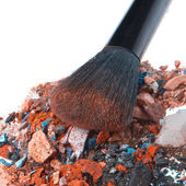 Crushed eyeshadows — Stock Photo
