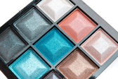 Compact eyeshadows — Stock Photo