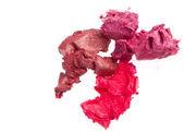 Scraps of lipstick — Stock Photo