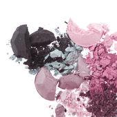 Multicolored crushed eyeshadows — Stock Photo