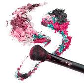 Crushed eyeshadows — Zdjęcie stockowe