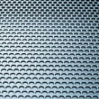 Abstract metallic grid - Foto de Stock