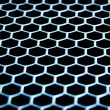 Abstract metallic grid - Lizenzfreies Foto