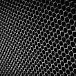 Abstract metallic grid - 
