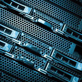 Data center detail — Stock Photo