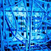 Network center concept — Stock Photo