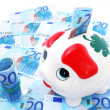 Piggy bank for money — Stock Photo #10279202