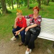 Mother and son in park — Stock Photo #10374113