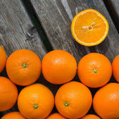 橘子 — 图库照片