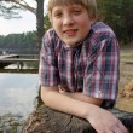 Boy fishing — Stock Photo #10524201