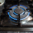 Stock Photo: Gas-stove burner
