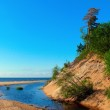 Creek flowing into the Baltic Sea — Stock Photo #10644325