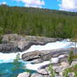 mountain river — Stock Photo #9535330