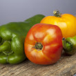 Organic vegetables — Stock Photo #8338613