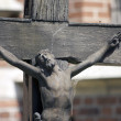 Jesus on the cross - Stock Photo
