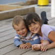 Stock Photo: Two Children