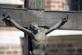 Jesus on the cross — Stock Photo