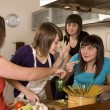 Cooking together — Stock Photo #8265168