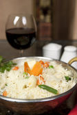 Basmati Rice with Moong Dhal — Stock Photo