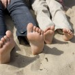Relax on the beach — Stock Photo