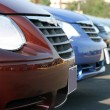 Cars for sale — Stock Photo