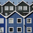 Swedish wooden house — Stock Photo