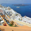 Fira and Santorini islands, Greece — Stock Photo