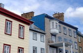 Houses in old Quebec — Stock Photo