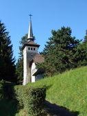 Small white church — Stock Photo