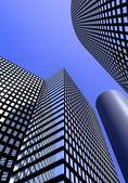 Distrito de negocios — Foto de Stock