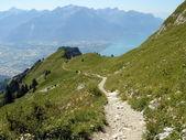 View of Villereuse, Switzerland — Stock Photo