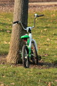 Bike for child in nature — Stock Photo