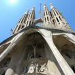 Sagrada familia church, Barcelona, Spain — Stock Photo