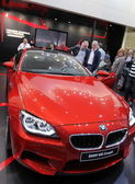 Red BMW M6 coupe — Stock Photo