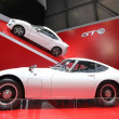 Two white Toyota 2000 GT — Stock Photo #9696750