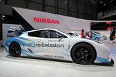 Nissan leaf nismo rc zerowej emisji — Zdjęcie stockowe
