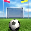 2012 european soccer championship — Stock Photo #9978677
