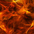 Textured fire - Stock Photo