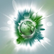 Green planet — Stock Photo #8230995