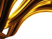 Fale złota — Zdjęcie stockowe