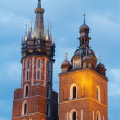 Krakow city in Poland, Europe - Stock Photo
