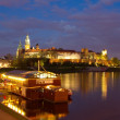 krakow city in poland, europe — Stock Photo