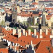Prague, the capital of Czech Republic - Stock Photo
